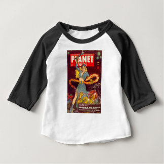 Woman Fighting Monster Baby T-Shirt