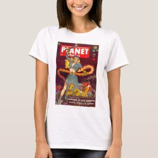 Woman Fighting Monster T-Shirt