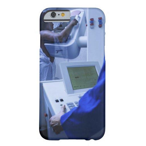 Woman getting mammogram iPhone 6 case
