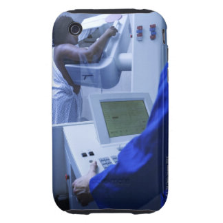 Woman getting mammogram iPhone 3 tough covers