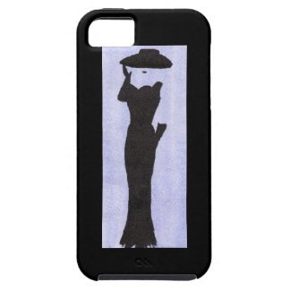 Woman In Black iPhone 5 Case