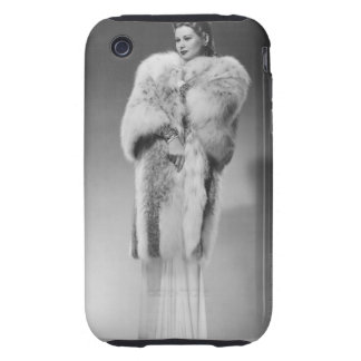 Woman in Evening Gown 2 Tough iPhone 3 Case