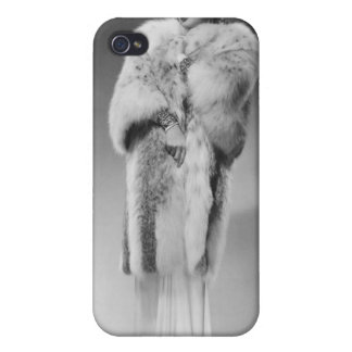 Woman in Evening Gown 2 Case For iPhone 4
