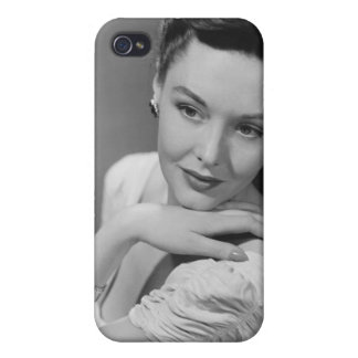 Woman in Evening Gown Case For The iPhone 4