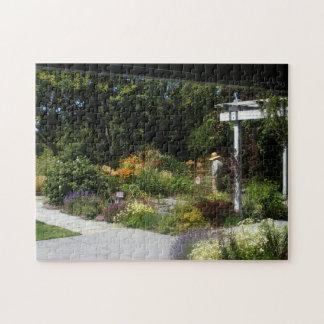 Woman in Garden Puzzle