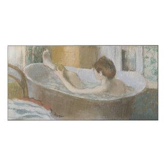 Woman in her Bath, Sponging her Leg, c.1883