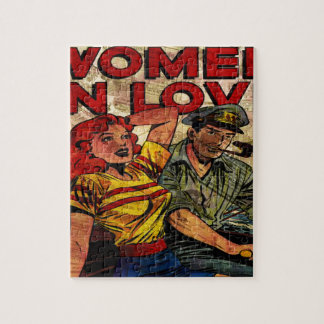 Woman in love jigsaw puzzle