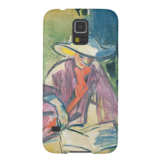 Woman in the Garden Galaxy S5 Cases