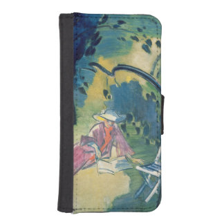 Woman in the Garden Phone Wallet Case