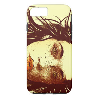 Woman in the Wind iPhone 7 Case
