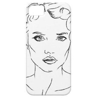 woman iPhone 5 cover