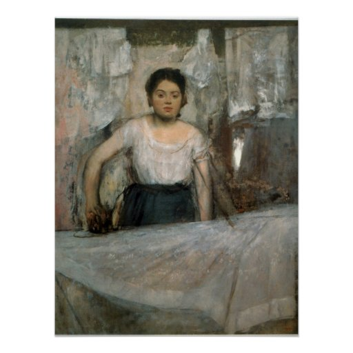 Woman Ironing by Edgar Degas Print