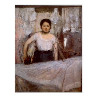 Woman Ironing by Edgar Degas Posters