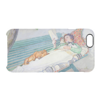 Woman Lying on a Bench, 1913 Clear iPhone 6/6S Case
