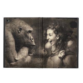 Woman Making Gorilla Laugh Powis iPad Air 2 Case