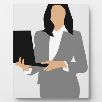 Woman Manager Plaque