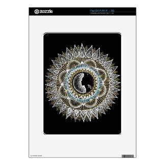 Woman Mandala iPad Decals