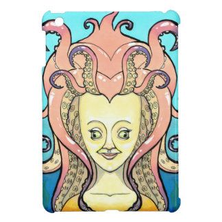woman octopus iPad mini covers