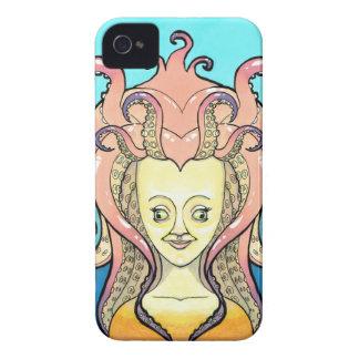 woman octopus iPhone 4 Case-Mate case