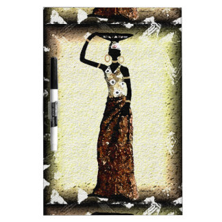 Woman of Africa Dry Erase Board