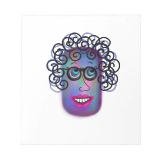 Woman Of Expressions Notepad