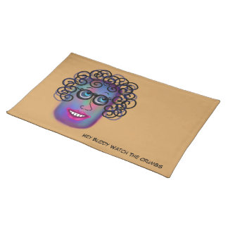 Woman Of Expressions Placemat