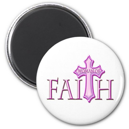 Woman of Faith Magnet