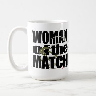 Woman of the Match Coffee Mug