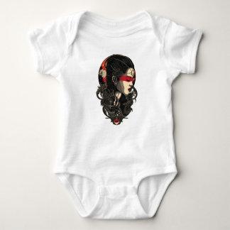 Woman of the Rising Sun Baby Bodysuit