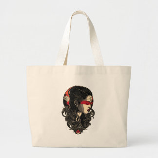 Woman of the Rising Sun Large Tote Bag
