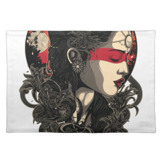 Woman of the Rising Sun Placemat