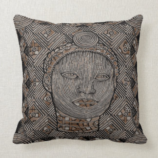"Woman of the tribe Throw Pillow 20"" x 20"""