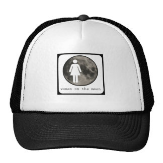 Woman On The Moon Graphic Hats