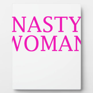 woman plaque