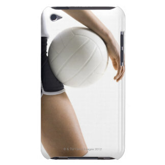 woman playing volleyball barely there iPod cases