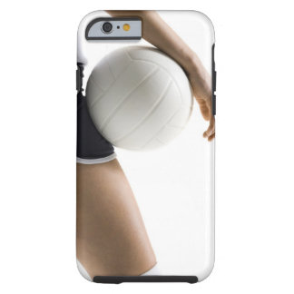 woman playing volleyball tough iPhone 6 case