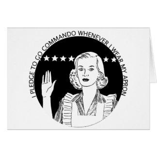 Woman Pledge Card