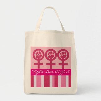 Woman Power Emblem Grocery