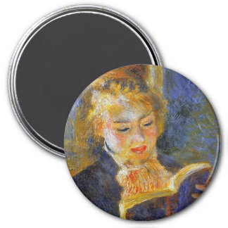 Woman Reading- Auguste Renoir Magnet