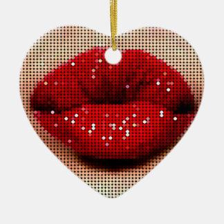 Woman s Kiss Ornament