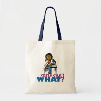 Woman Scientist Tote Bag