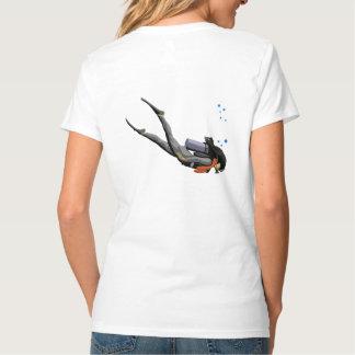 Woman SCUBA Diving T-Shirt