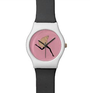Woman shell watch