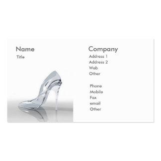 Woman Shoe - Business Card