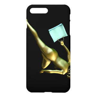 Woman Shopper Running for a Sales Event iPhone 7 Plus Case