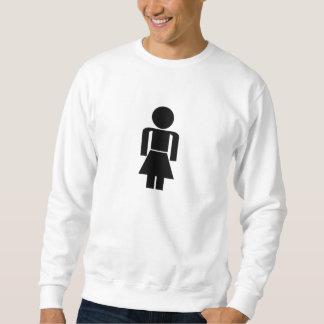 Woman Sign Sweatshirt