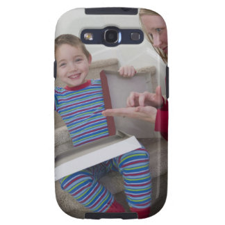 Woman signing the word 'Calculator' in American Samsung Galaxy S3 Case