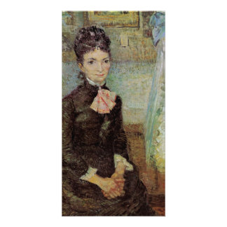 Woman Sitting by a Cradle by Vincent van Gogh Personalised Photo Card
