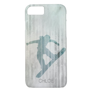 Woman Snowboarder iPhone 8/7 Case