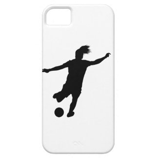 Woman Soccer Player iPhone 5 Case